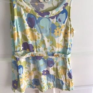 Moth Floral Tank, Small